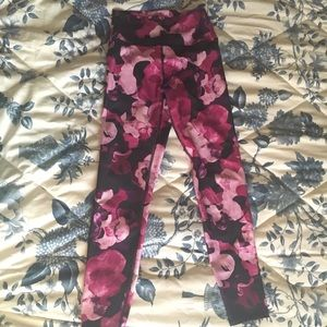 Fabletics floral high waisted leggings